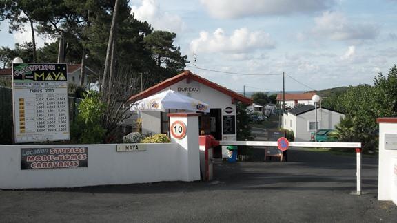 Camping  toiles Maya  Saint Jean De Luz Pays Basque   Mobil